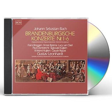 Gustav Leonhardt J. S. BACH: BRANDENBURG CONCERTOS CD