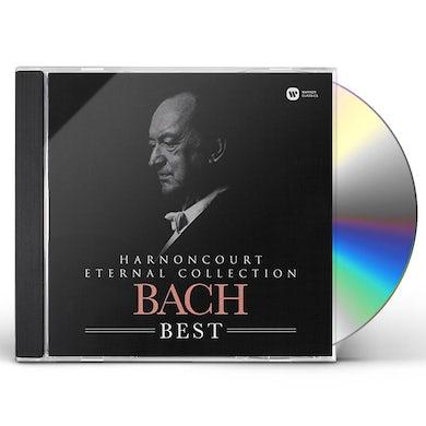 Nikolaus Harnoncourt ETERNAL COLLECTION: BACH BEST CD