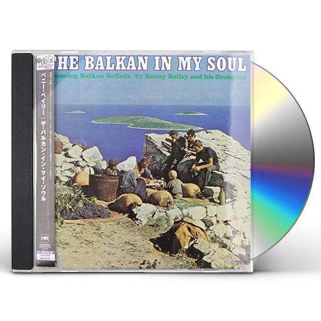 Benny Bailey BALKAN IN MY SOUL CD