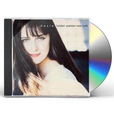 Basia LONDON WARSAW NEW YORK: 25TH ANNIVERSARY CD