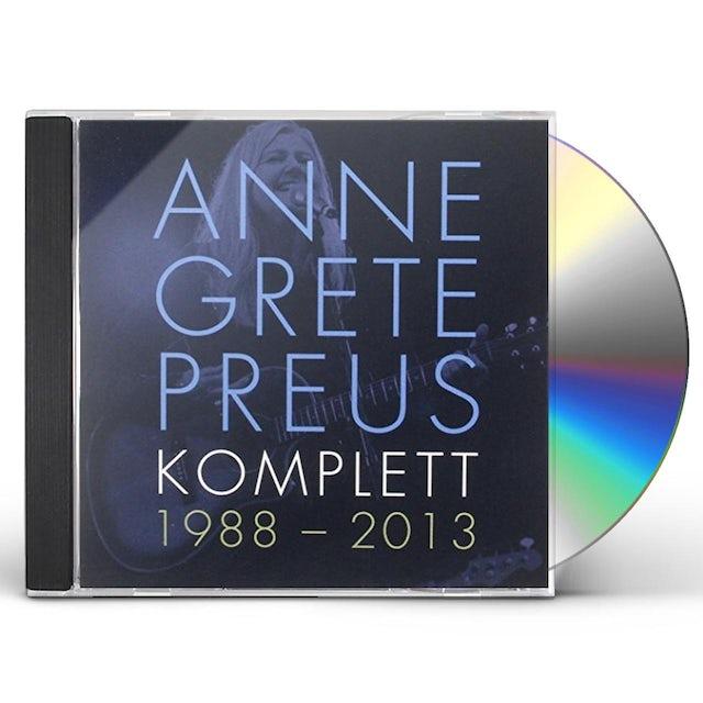 Anne Grete Preus KOMPLETT 1988-13 CD