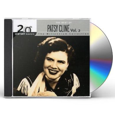 Patsy Cline 20TH CENTURY MASTERS 2 CD