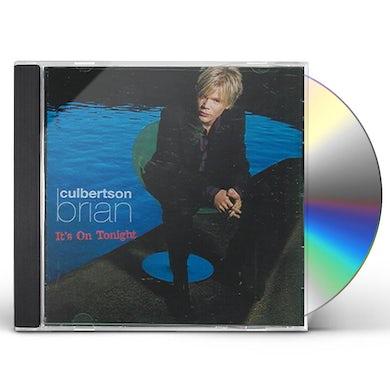 Brian Culbertson IT'S ON TONIGHT CD
