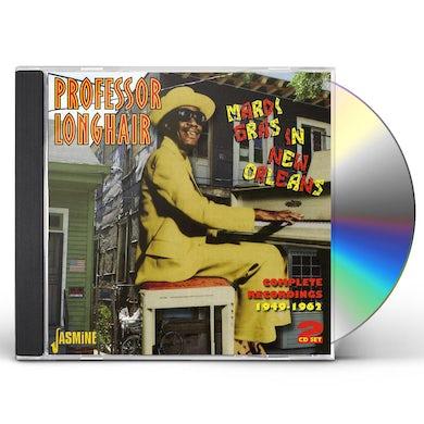 Professor Longhair MARDI GRAS IN NEW ORLEANS: COMPLETE RECORDINGS CD