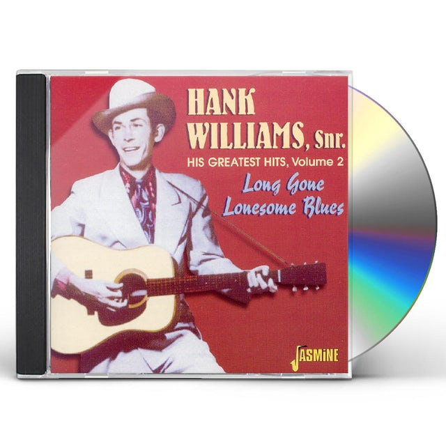 Hank Williams Sr HIS G.H. 2: LONG GONE LONESOME BLUES CD