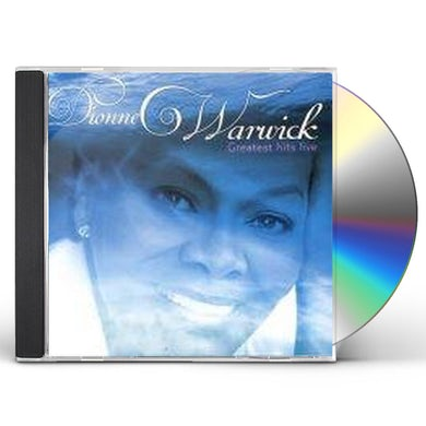 Dionne Warwick GREATEST HITS LIVE CD