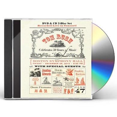 Tom Rush CELEBRATES 50 YEARS OF MUSIC CD