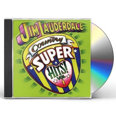 Jim Lauderdale COUNTRY SUPER HITS 1 CD
