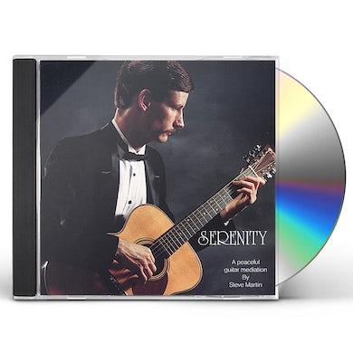 Steve Martin SERENITY CD