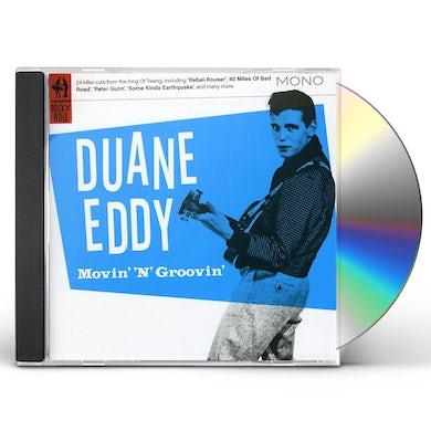 Duane Eddy MOVIN N GROOVIN CD