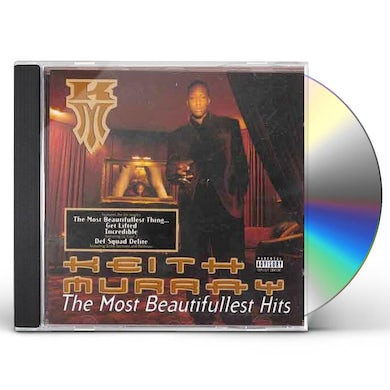 Keith Murray   MOST BEAUTIFULLEST HITS CD