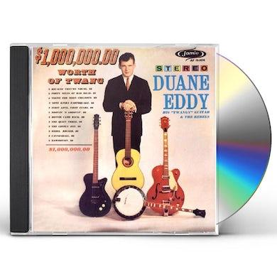Duane Eddy 1,000,000.00 WORTH OF TWANG CD