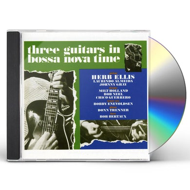 THREE GUITARS IN BOSSA NOVA TIME CD