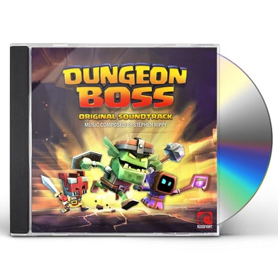 Stephen Rippy DUNGEON BOSS - Original Soundtrack CD