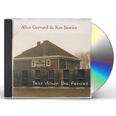 Alice Gerrard TEAR DOWN THE FENCES CD
