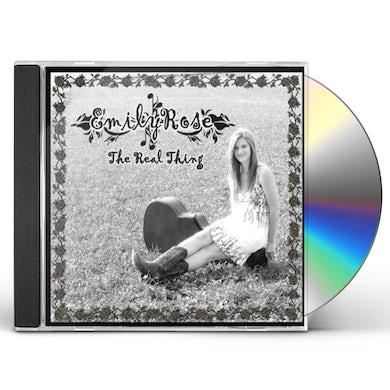 Emily Rose REAL THING CD