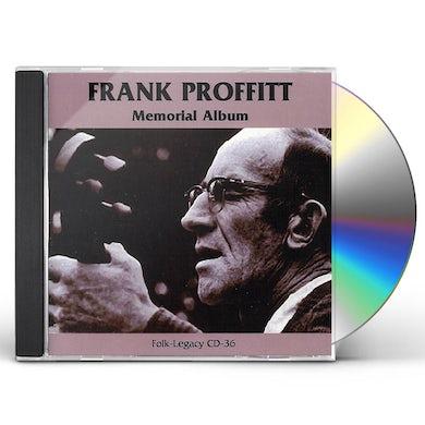Frank Proffitt MEMORIAL ALBUM CD