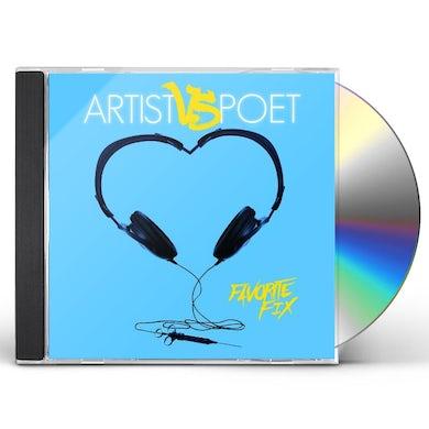 Artist Vs Poet FAVORITE FIX CD