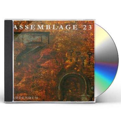 Assemblage 23 ADDENDUM CD