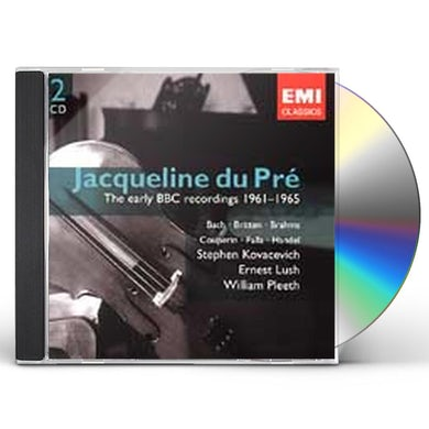 Jacqueline Du Pre HER EARLY BBC RECORDINGS CD