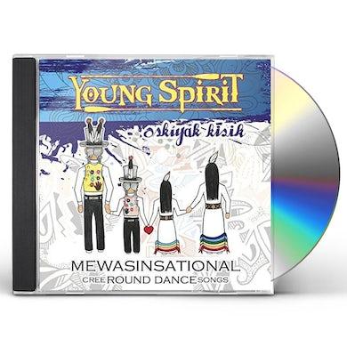 Mewasinsational: Cree Round Dance Songs CD