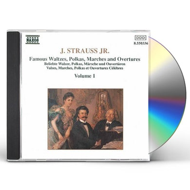 Johann Strauss WALTZES / POLKAS / MARCHES / OVERTURES 1 CD