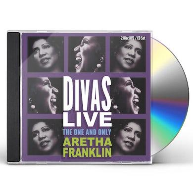 Aretha Franklin   DIVAS LIVE CD