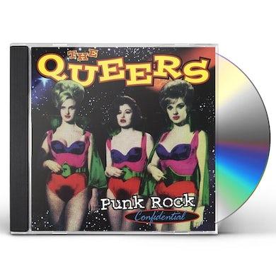 Queers PUNK ROCK CONFIDENTIAL CD
