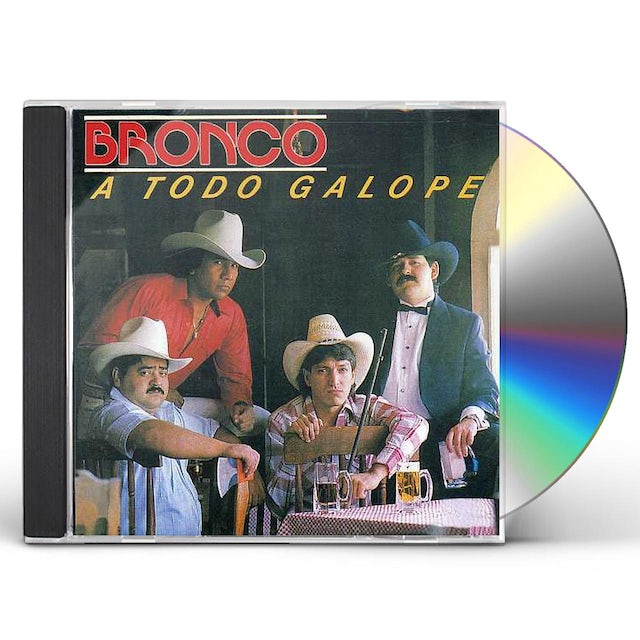 Bronco TODO GALOPE CD
