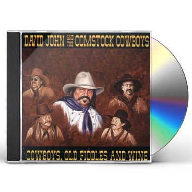 David John COWBOYS OLD FIDDLES & WINE CD