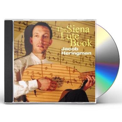 Jacob Heringman SIENA LUTE BOOK CD