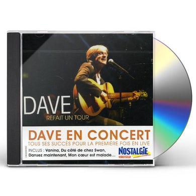 Dave REFAIT UN TOUR CD