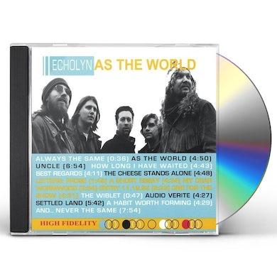 Echolyn AS THE WORLD CD