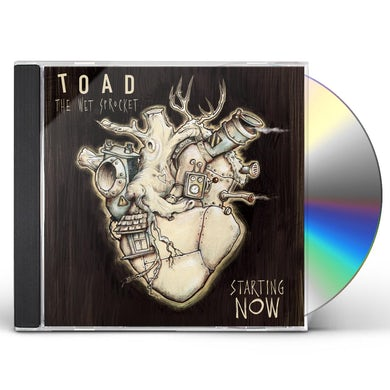 Toad The Wet Sprocket STARTING NOW CD