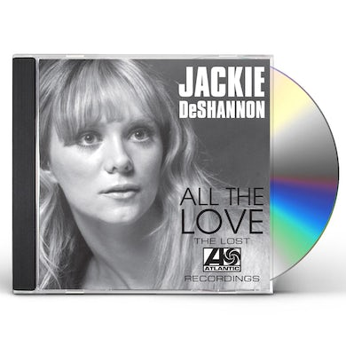 Jackie Deshannon ALL THE LOVE: THE LOST ATLANTIC RECORDINGS CD