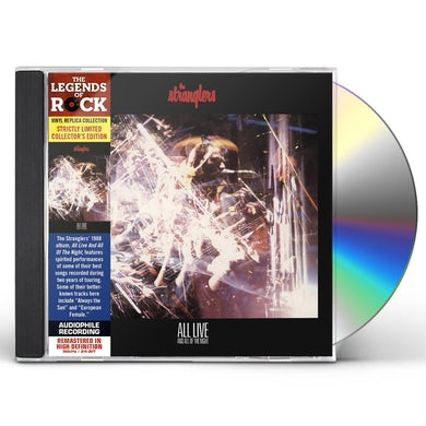 The Stranglers ALL LIVE & ALL OF THE NIGHT CD