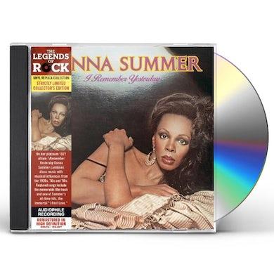 Donna Summer I REMEMBER YESTERDAY CD