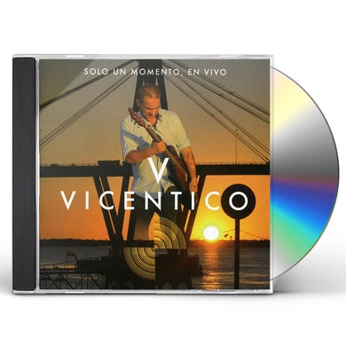 Vicentico SOLO UN MOMENTO EN VIVO CD