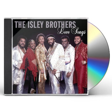 The Isley Brothers LOVE SONGS CD