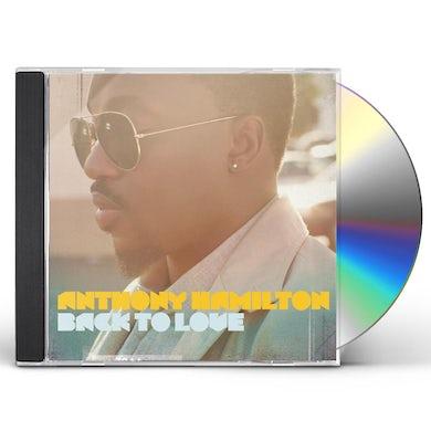 Anthony Hamilton BACK TO LOVE CD