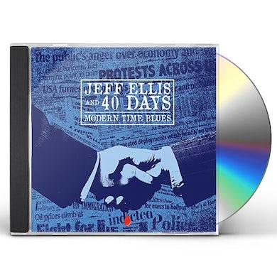 Jeff Ellis MODERN TIME BLUES CD