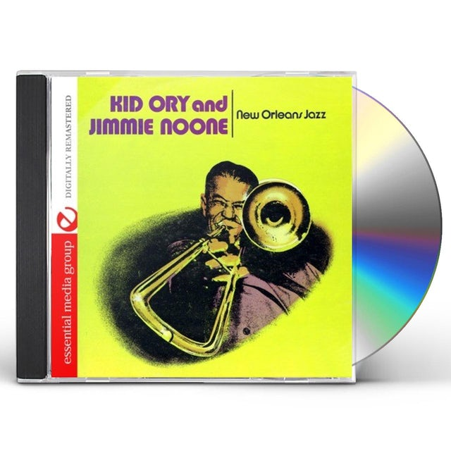 Kid Ory NEW ORLEANS JAZZ CD