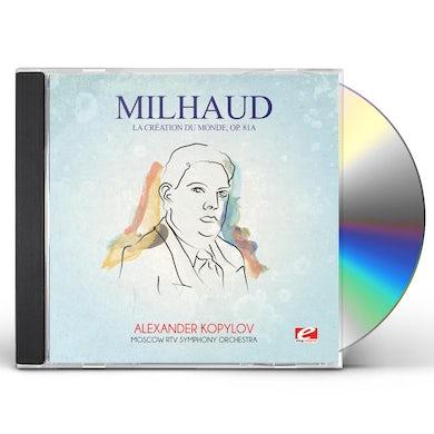 Darius Milhaud MILHAUD: LA CREATION DU MONDE OP. 81A CD