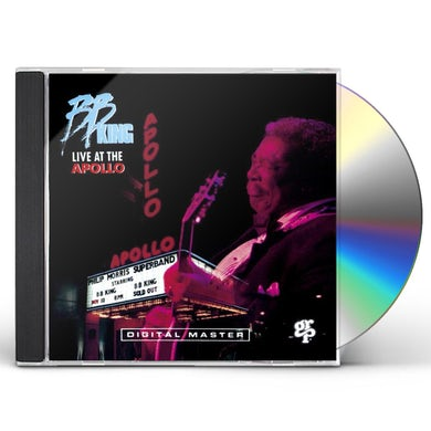 B.B. King LIVE AT THE APOLLO CD