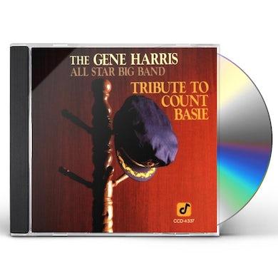 Gene Harris TRIBUTE TO COUNT BASIE CD