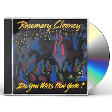 Rosemary Clooney DO YOU MISS NEW YORK CD