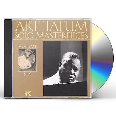 Art Tatum SOLO MASTERPIECES 6 CD