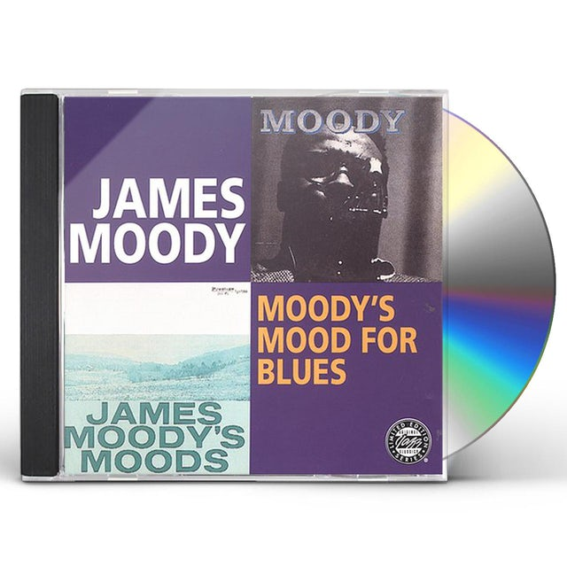 James Moody MOODY'S MOOD FOR BLUES CD