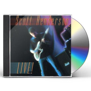 Scott Henderson LIVE CD