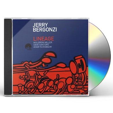 Jerry Bergonzi LINEAGE CD